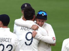 James Anderson and Joe Root starred in England's win (Mike Hewitt/PA)
