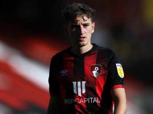 Bournemouth midfielder David Brooks has been sidelined for a month by an ankle injury (Kieran Cleeves/PA)