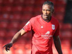 Omar Beckles scored for Crewe (Martin Rickett/PA)