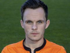 Dundee United forward Lawrence Shankland (Jeff Holmes/PA)