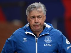 Everton manager Carlo Ancelotti admits their form against the bottom half of the Premier League has him worried (Bradley Collyer/PA)