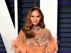 Chrissy Teigen celebrated after she was unfollowed by Joe Biden's presidential Twitter account (Ian West/PA)
