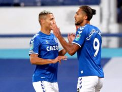 Everton forward Richarlison is likely to have to fill in for the injured Dominic Calvert-Lewin (Martin Rickett/PA)