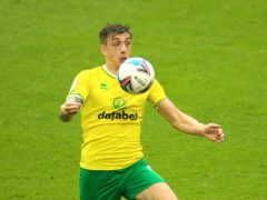 Jordan Hugill could be back on the Norwich bench (Nigel French/PA)