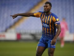 Aaron Pierre has been a regular for Shrewsbury this season (Nick Potts/PA)