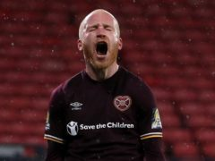Liam Boyce struck for Hearts (Andrew Milligan/PA)