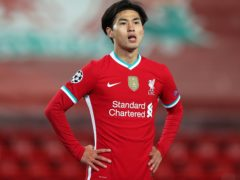 Liverpool's Takumi Minamino has been sent to Southampton on loan (Peter Byrne/PA)