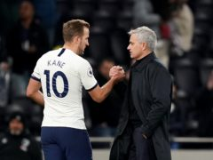 Jose Mourinho, right, knows the value of Harry Kane to Tottenham (John Walton/PA)