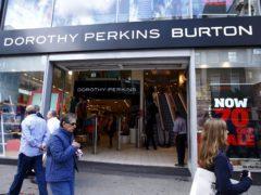 The brands run 214 shops (Sean Dempsey/PA)