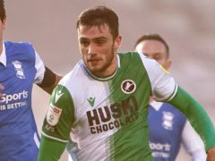 Troy Parrott has left Millwall (Zac Goodwin/PA)