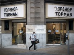 Asos has bought the Topshop, Topman, Miss Selfridge and HIIT brands from the collapsed Arcadia empire (Jane Barlow/PA)