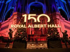 The Royal Albert Hall in London prepares to celebrate its 150th anniversary (Matt Crossick/PA)