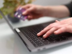 The report, covering 41 countries, said the UK's e-commerce market is currently the third largest (Tim Goode/PA)