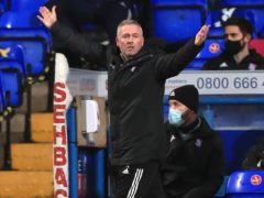 Ipswich manager Paul Lambert was happy with his side's performance (Mike Egerton/PA)