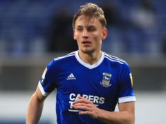 Luke Woolfenden wrapped up victory for Ipswich against Blackpool (Mike Egerton/PA)