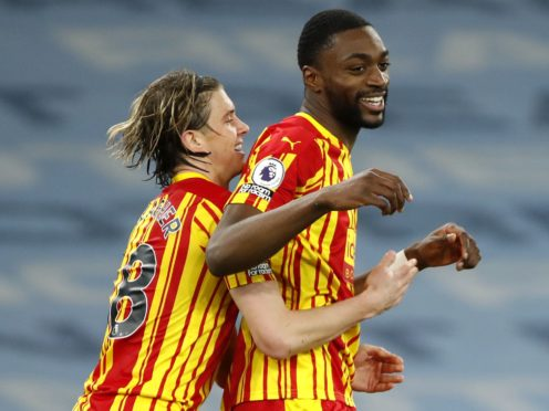West Brom defender Semi Ajayi (right) misses the visit of Brighton through suspension (Clive Brunskill/PA)