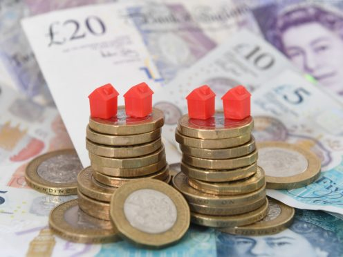 Nearly 800,000 households across the UK could be at risk of losing their home if they suffered a loss of income, according to analysis by the Social Market Foundation (Joe Giddens/PA)