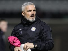 St Mirren manager Jim Goodwin has backed his team to record a historic top-six finish (Andrew Milligan/PA)