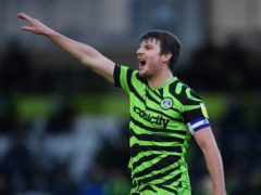 Forest Green's Chris Stokes is out of action with a thigh injury (Simon Galloway/PA)