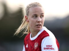 Beth Mead has scored three goals for Arsenal this season (Bradley Collyer/PA)