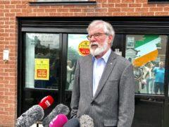 Former Sinn Fein President Gerry Adams (David Young/PA)