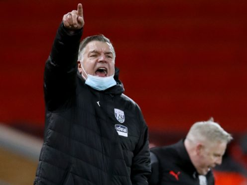 West Brom manager Sam Allardyce says Tottenham's losing run does not make it easier for his side on Sunday (Clive Brunskill/PA)