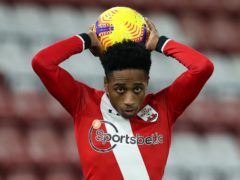 Southampton right-back Kyle Walker-Peters is set for a spell on the sidelines (Peter Cziborra/PA)