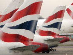 British Airways has boosted its liquidity by £2.45 billion (Tim Ockenden/PA)