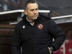 Micky Mellon's Dundee United are chasing a top-six finish in the Scottish Premiership (Alan Harvey/PA)