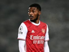 Ainsley Maitland-Niles has played five times for England (Michael Regan/PA)