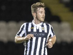 St Mirren's Kyle McAllister ended his goal drought in the win over Kilmarnock (Jeff Holmes/PA)