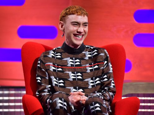 Olly Alexander during filming for the Graham Norton Show (Matt Crossick/PA)