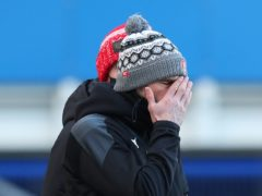 Paul Warne's Rotherham suffered a home defeat to Reading (Peter Byrne/PA)