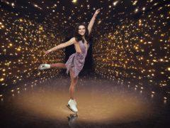 Faye Brookes in Dancing On Ice (Matt Frost/ITV/PA)