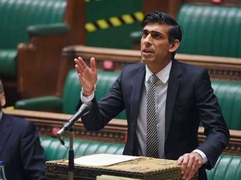 Mr Sunak is set to deliver his next budget on March 3 (UK Parliament/Jessica Taylor/PA)