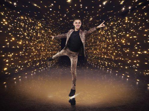 Joe-Warren Plant in Dancing On Ice (Matt Frost/ITV/PA)