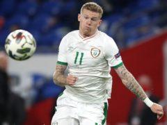 Republic of Ireland international James McClean has been targeted online (Nick Potts/PA)