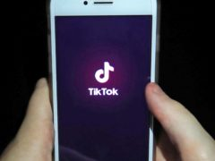 The TikTok app said it took down more than six million accounts for violating guidelines (PA)