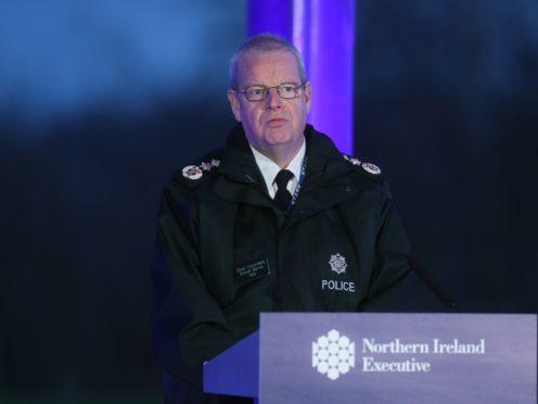 PSNI Chief Constable Simon Byrne (Brian Lawless/PA)