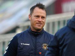 Michael Flynn hopes Newport can kick on (Simon Galloway/PA)
