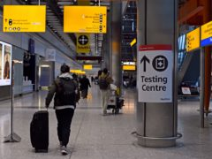 Returning travellers who try to evade quarantine rules could be jailed for up to 10 years (Kirsty O'Connor/PA)