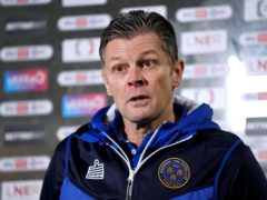 Steve Cotterill went back home this week after being hospitalised with Covid-19 (Zac Goodwin/PA)