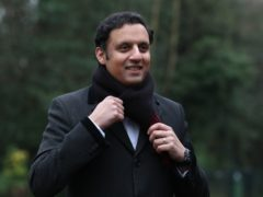 Scottish Labour leader Anas Sarwar said the party had a 'mountain to climb' (Andrew Milligan/PA)