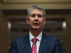 Edwin Poots requested on Monday evening for staff to be withdrawn from Belfast and Larne ports (Liam McBurney/PA)