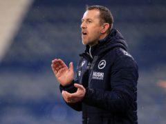 Gary Rowett believes Millwall's big win was long overdue (Mike Egerton/PA)
