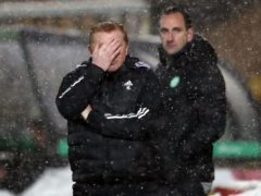 Neil Lennon has stepped down as Celtic boss, with John Kennedy taking over as caretaker manager (Andrew Milligan/PA)