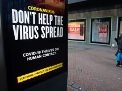 Coronavirus cases, hospital admissions and deaths will continue to fall as the UK has passed the peak in the current wave of the pandemic, England's chief medical officer has said (Andrew Matthews/PA)