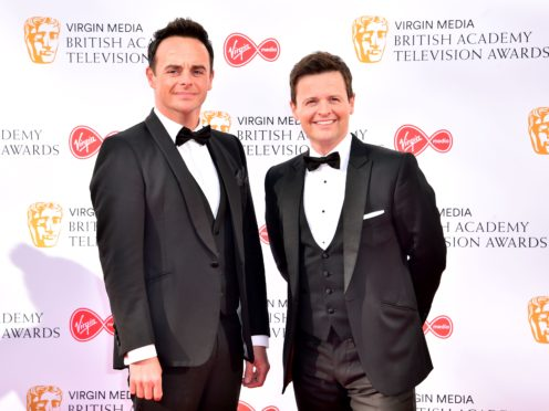 Ant and Dec will host the assembly online for the NSPCC (Matt Crossick/PA)