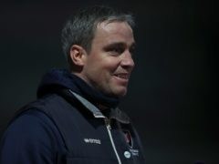 Cheltenham manager Michael Duff saw his side win at Scunthorpe (Nick Potts/PA).