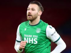 Hibernian's Martin Boyle the key man in Hamilton win (Jeff Holmes/PA)